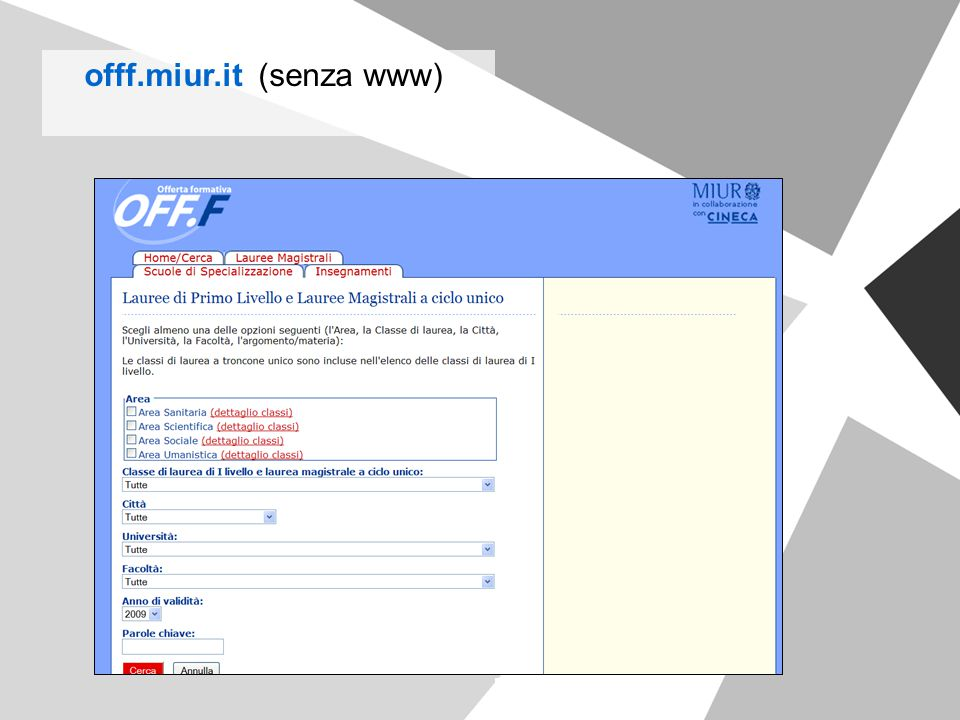 offf.miur.it (senza www)
