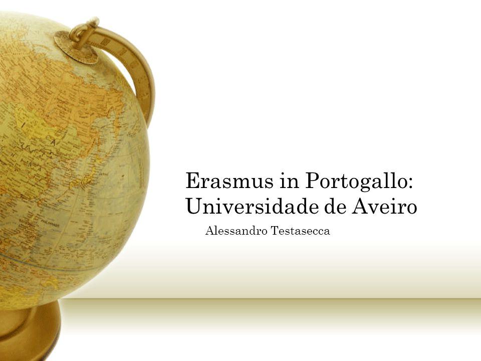 Erasmus in Portogallo: Universidade de Aveiro