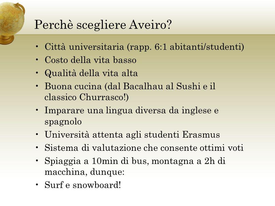 Perchè scegliere Aveiro