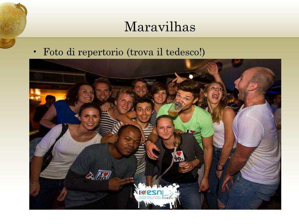 Maravilhas Foto di repertorio (trova il tedesco!)