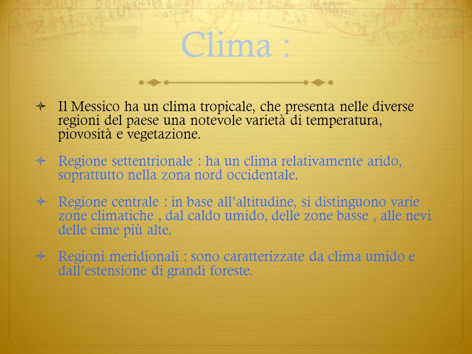 Clima :
