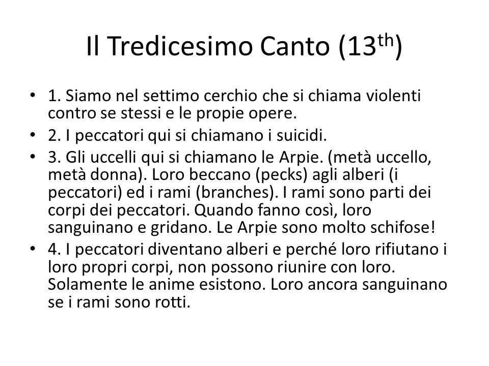 Il Tredicesimo Canto (13th)