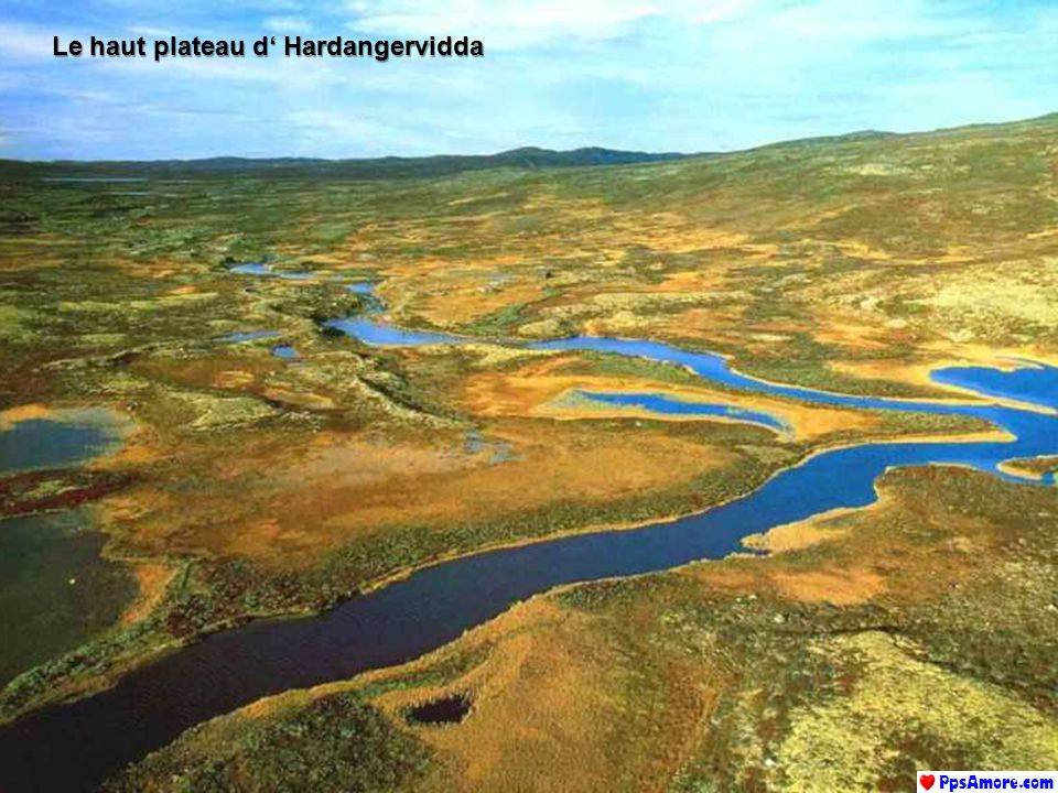 Le haut plateau d' Hardangervidda