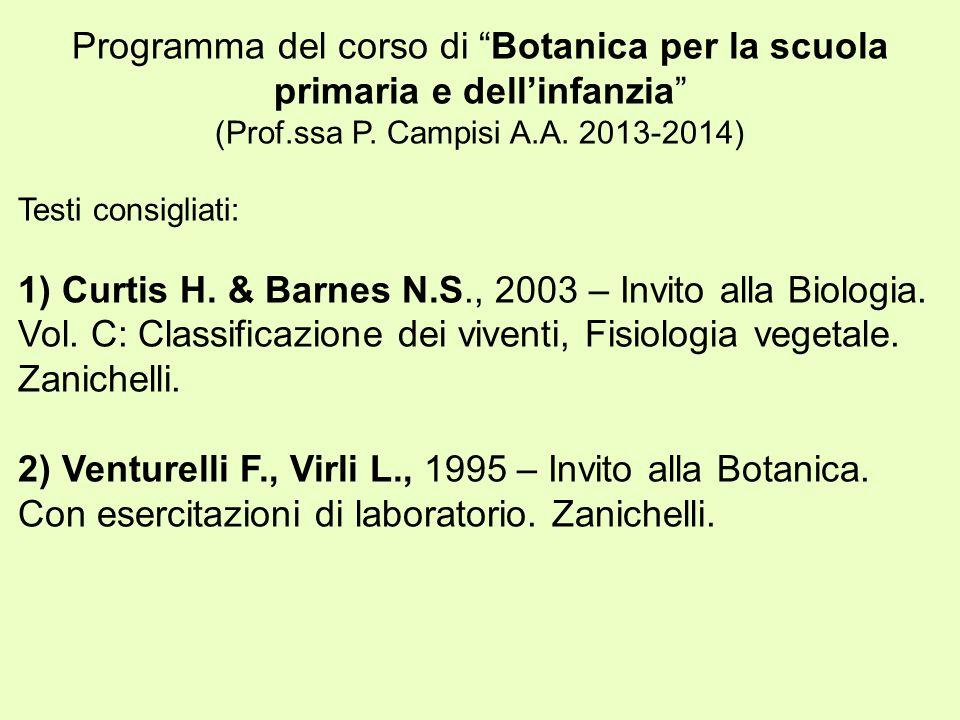 (Prof.ssa P. Campisi A.A. 2013-2014)