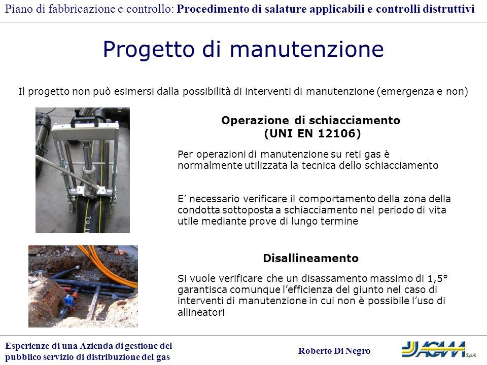 Operazione di schiacciamento (UNI EN 12106)