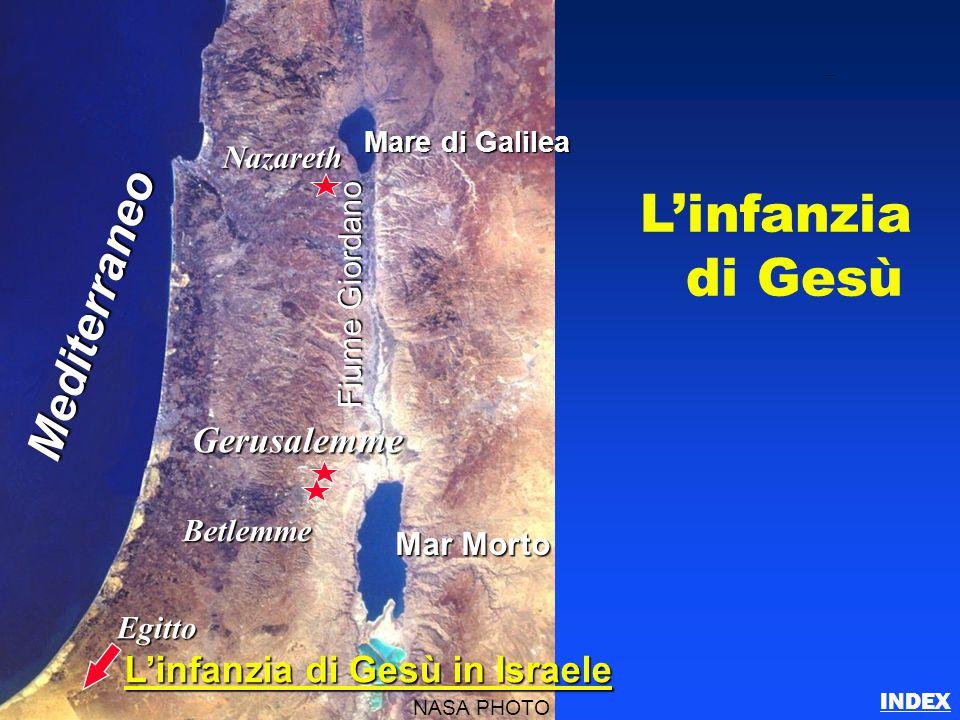 L'infanzia di Gesù Mediterraneo Gerusalemme