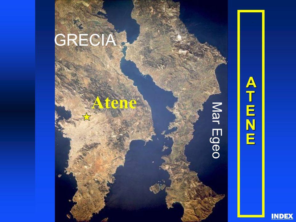 GRECIA Mar Egeo Atene Athens A T E NE INDEX