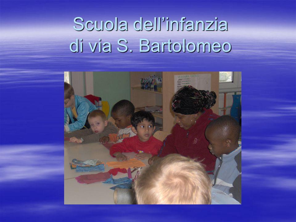 Scuola dell'infanzia di via S. Bartolomeo