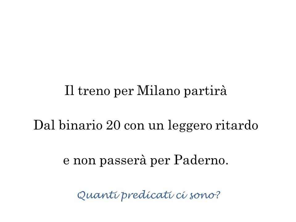 Il treno per Milano partirà Dal binario 20 con un leggero ritardo e non passerà per Paderno.