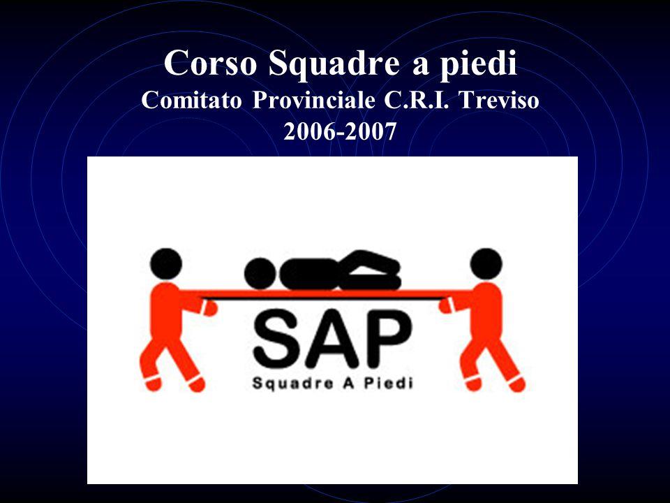 Corso Squadre a piedi Comitato Provinciale C.R.I. Treviso 2006-2007