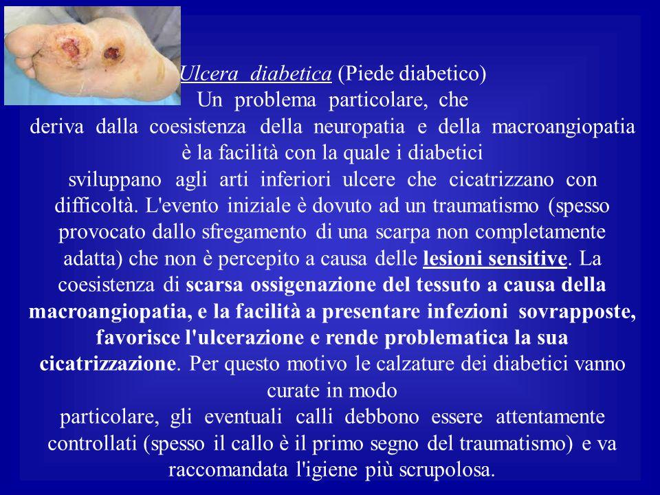Ulcera diabetica (Piede diabetico)
