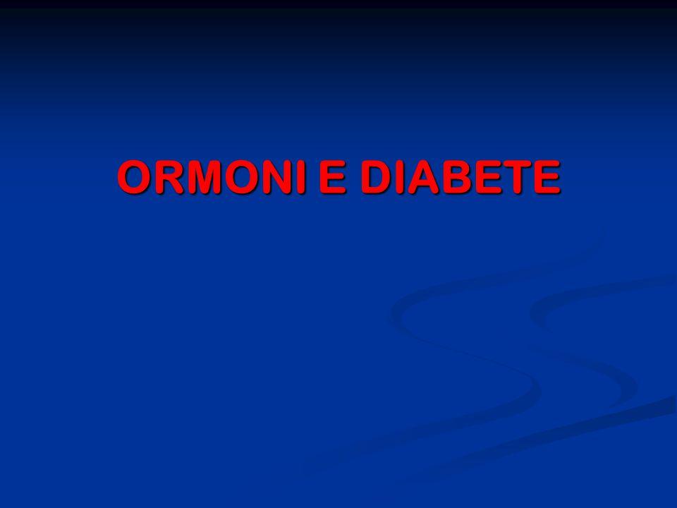 ORMONI E DIABETE