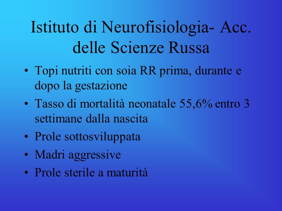 Istituto di Neurofisiologia- Acc. delle Scienze Russa