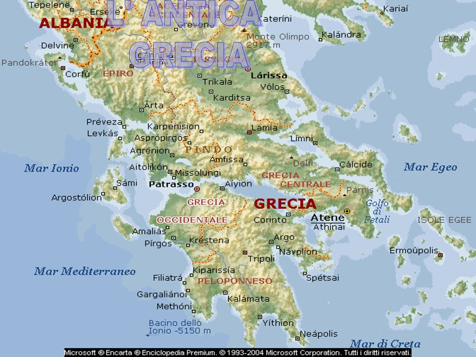 L ANTICA GRECIA