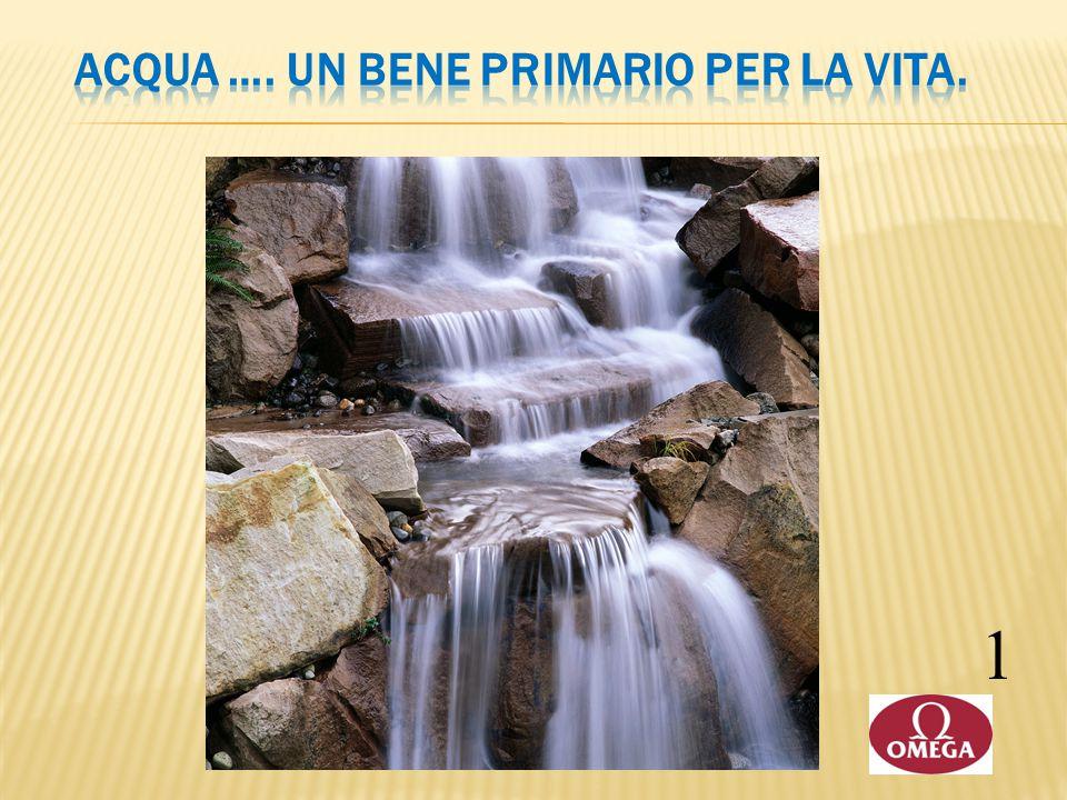 Acqua …. un bene primario per la vita.