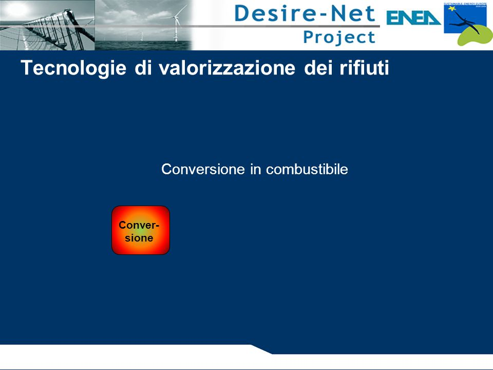 Conversione in combustibile