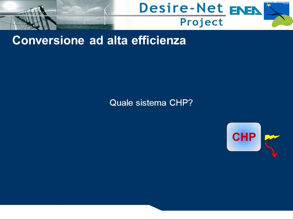 Conversione ad alta efficienza