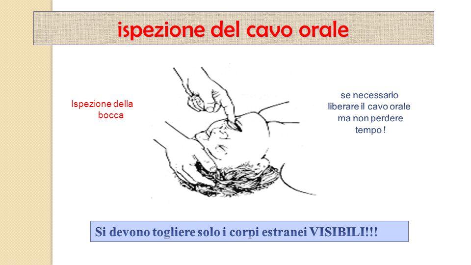 ispezione del cavo orale