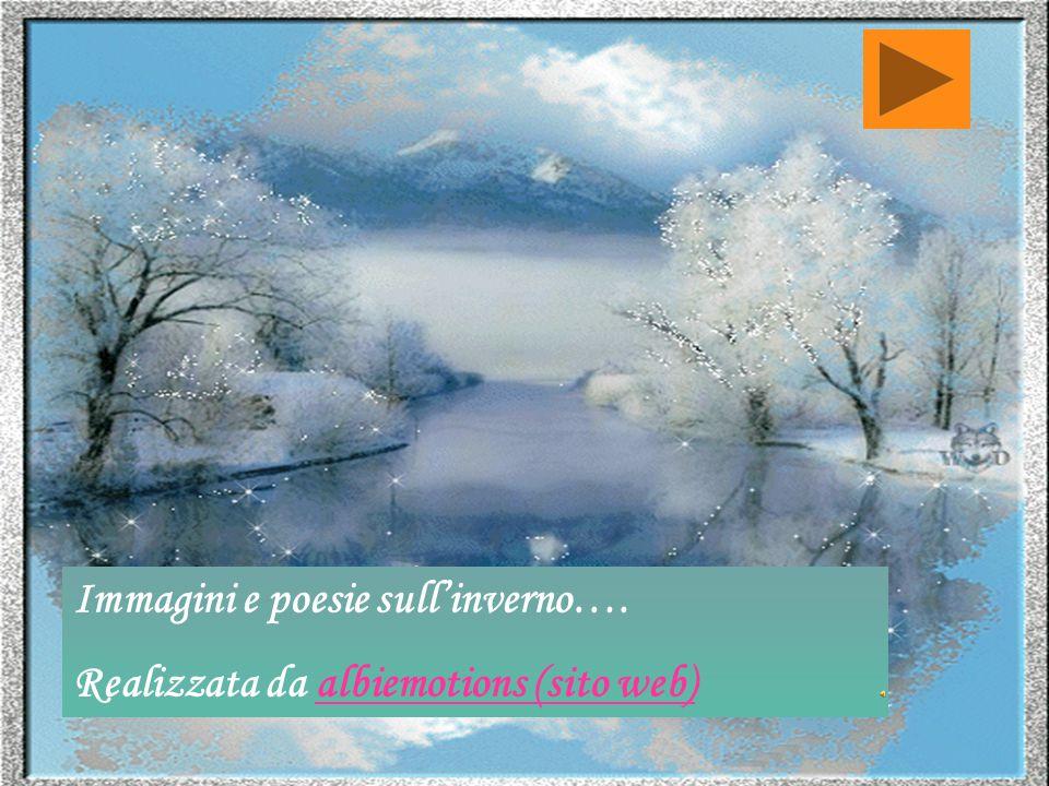 Immagini e poesie sull'inverno….
