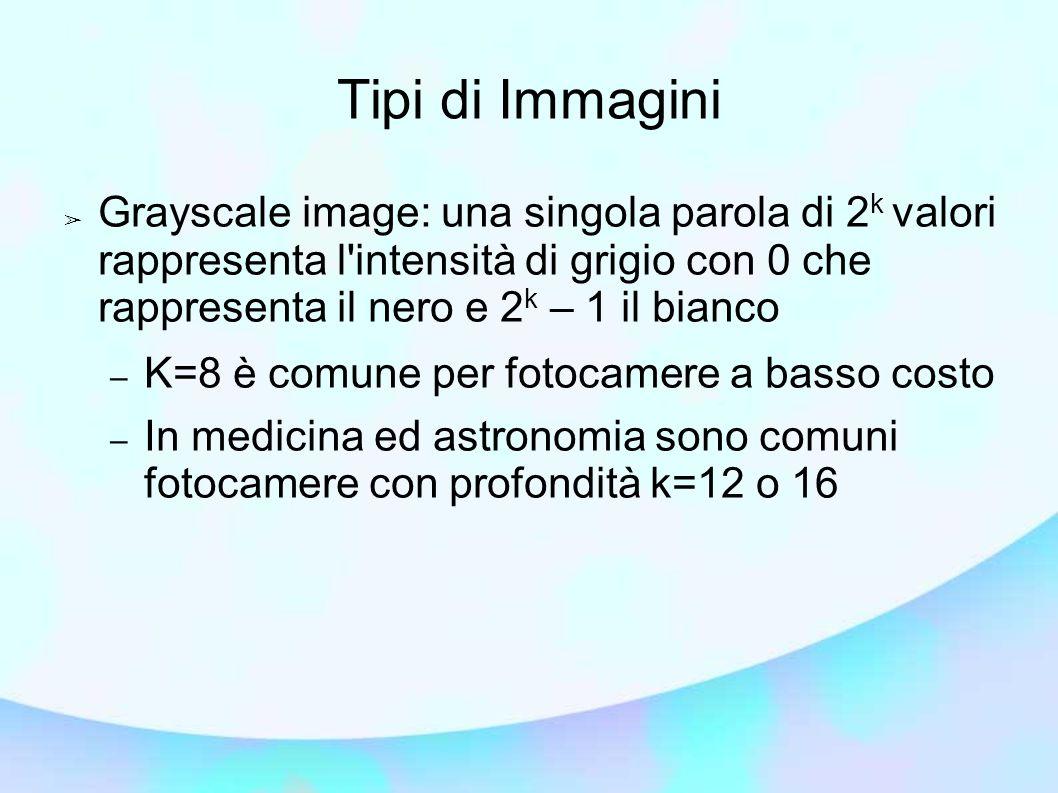 Tipi di Immagini