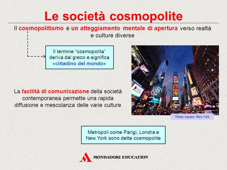 Le società cosmopolite