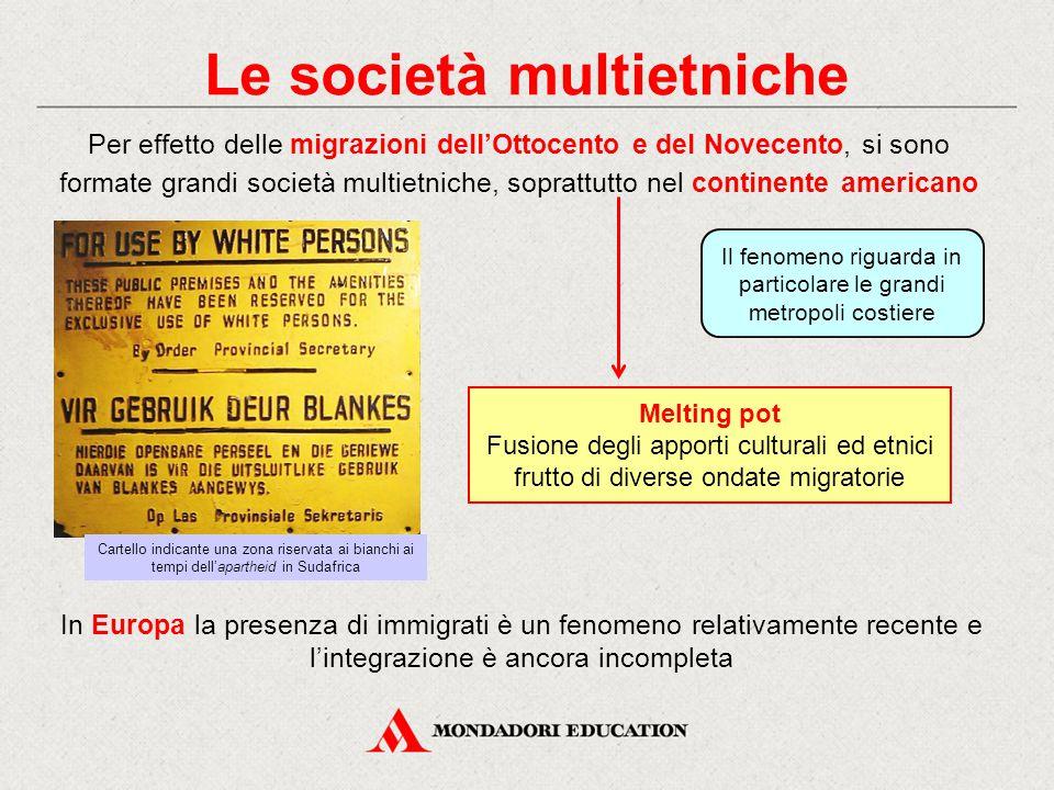 Le società multietniche