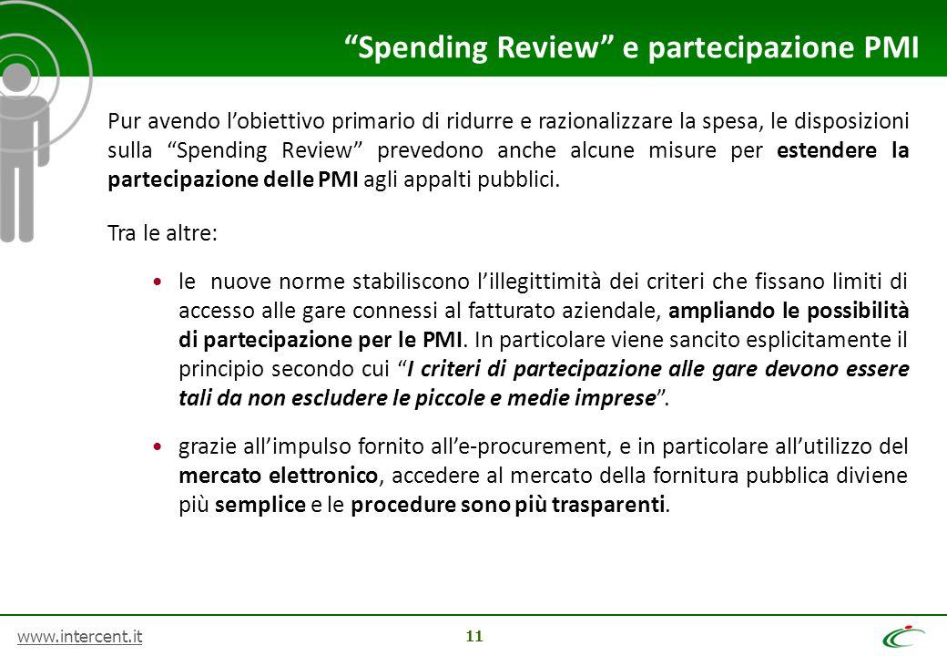 Spending Review e partecipazione PMI
