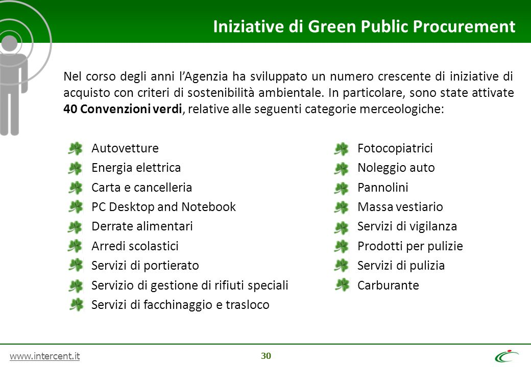 Iniziative di Green Public Procurement