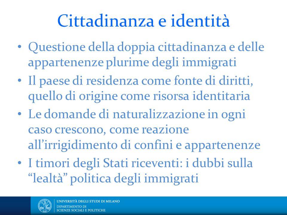 Cittadinanza e identità
