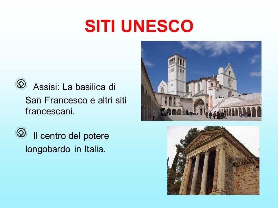 Assisi: La basilica di San Francesco e altri siti francescani.