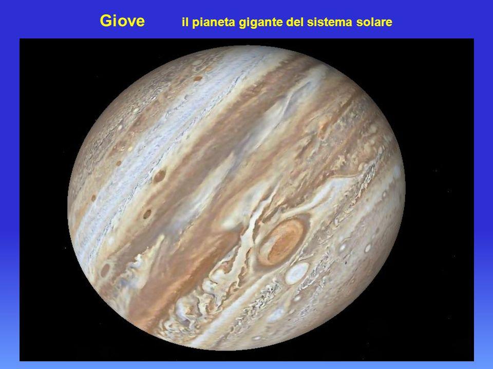 Giove il pianeta gigante del sistema solare