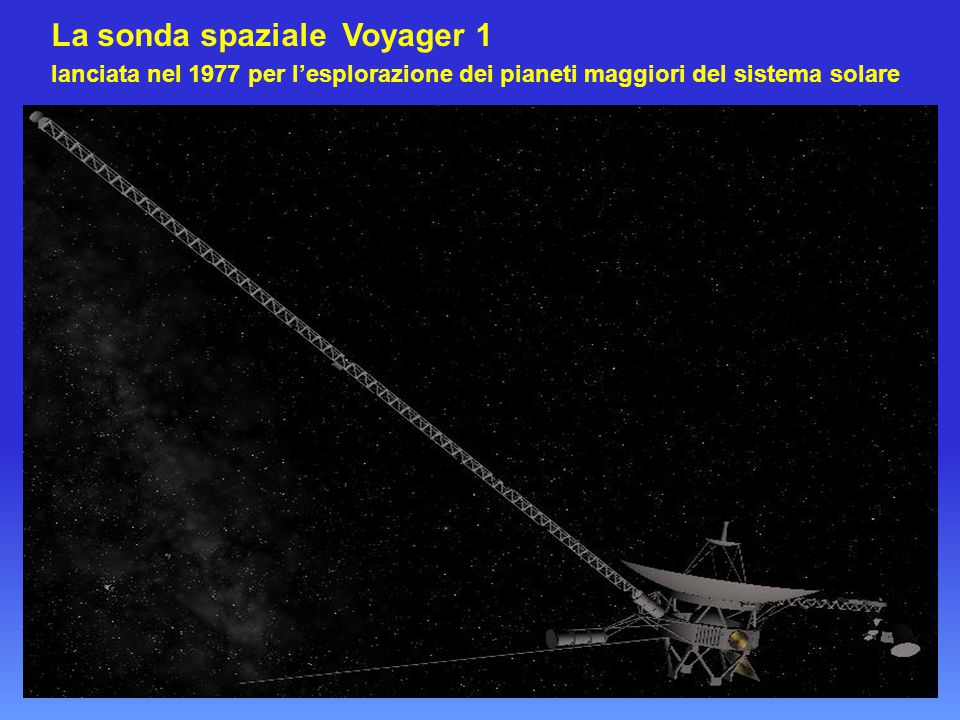 La sonda spaziale Voyager 1