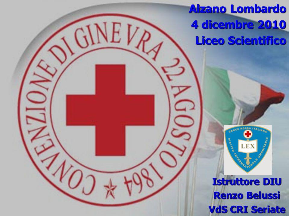 Alzano Lombardo 4 dicembre 2010 Liceo Scientifico Istruttore DIU