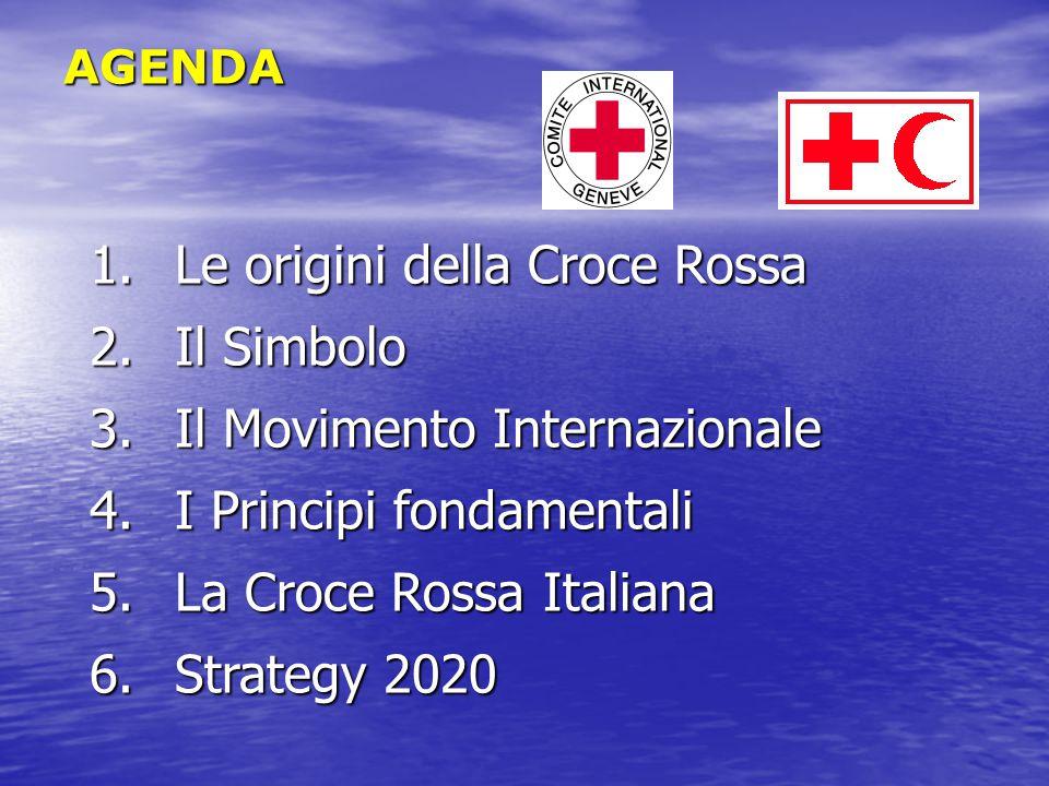Le origini della Croce Rossa Il Simbolo Il Movimento Internazionale