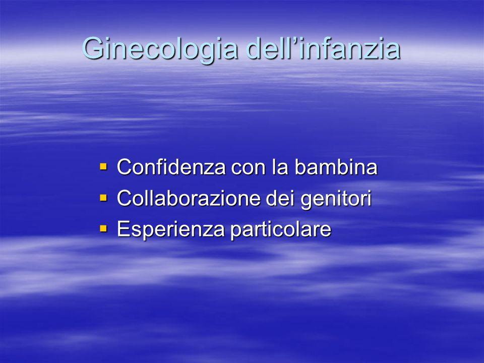Ginecologia dell'infanzia