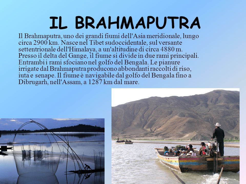 IL BRAHMAPUTRA
