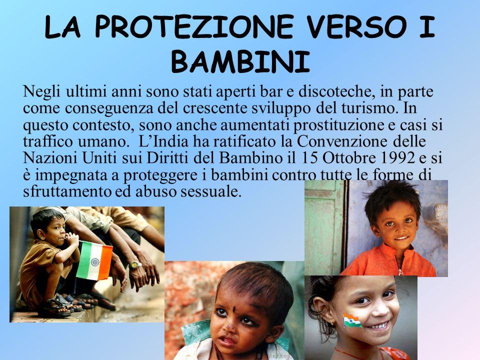 LA PROTEZIONE VERSO I BAMBINI