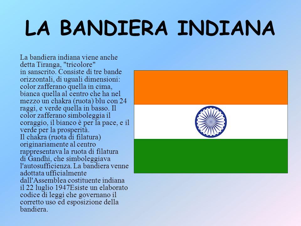 LA BANDIERA INDIANA