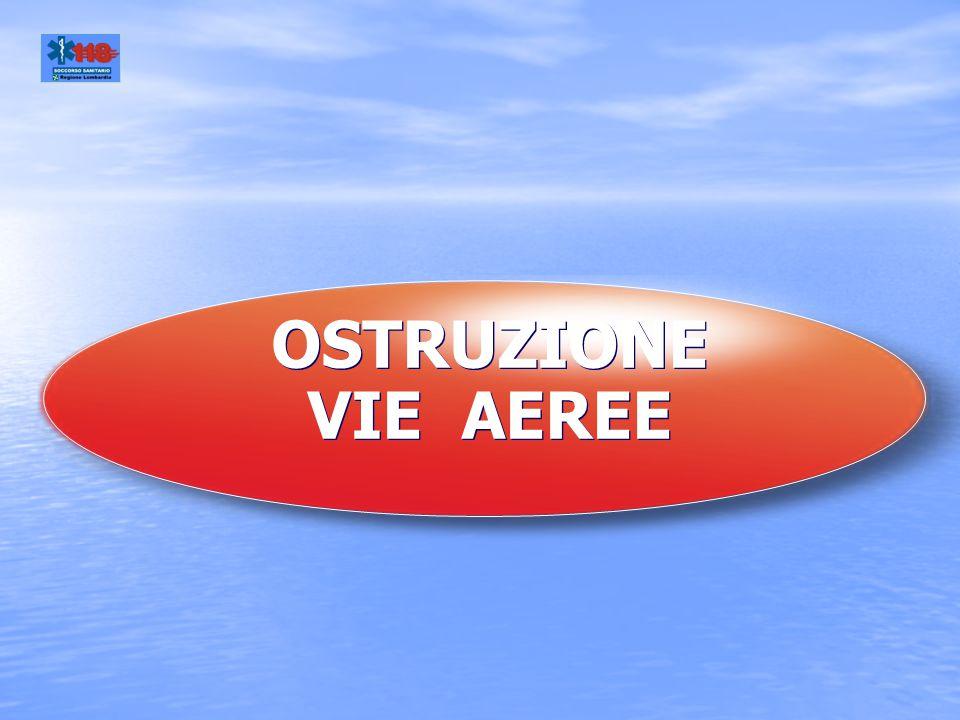 OSTRUZIONE VIE AEREE