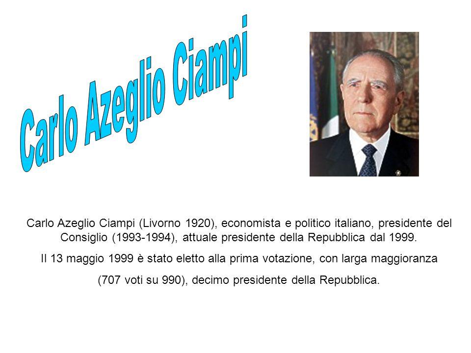 (707 voti su 990), decimo presidente della Repubblica.