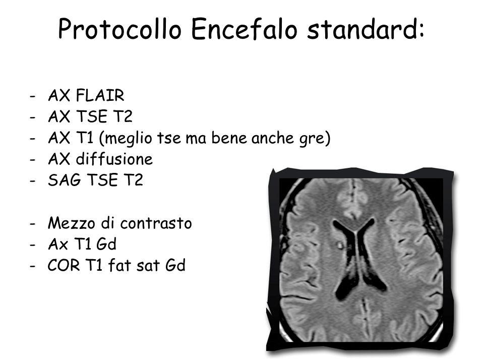 Protocollo Encefalo standard:
