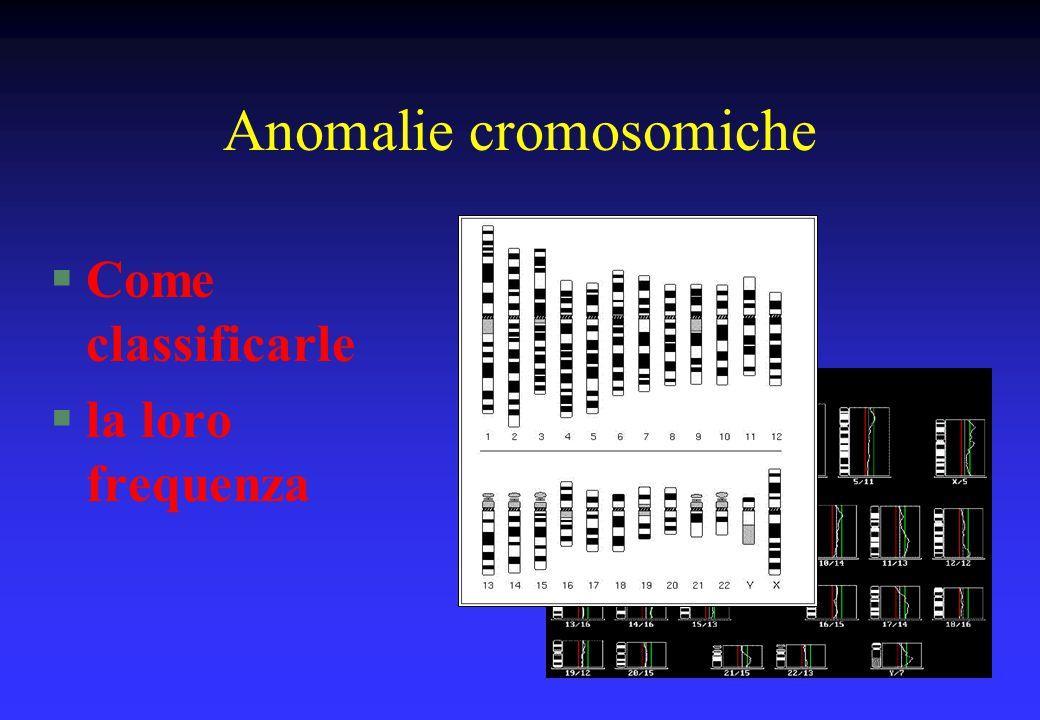 Anomalie cromosomiche
