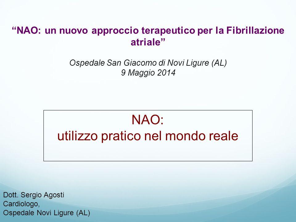NAO: un nuovo approccio terapeutico per la Fibrillazione atriale