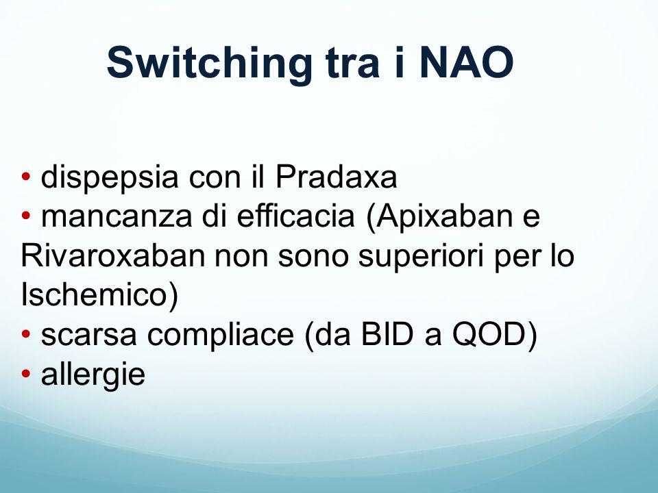Switching tra i NAO dispepsia con il Pradaxa
