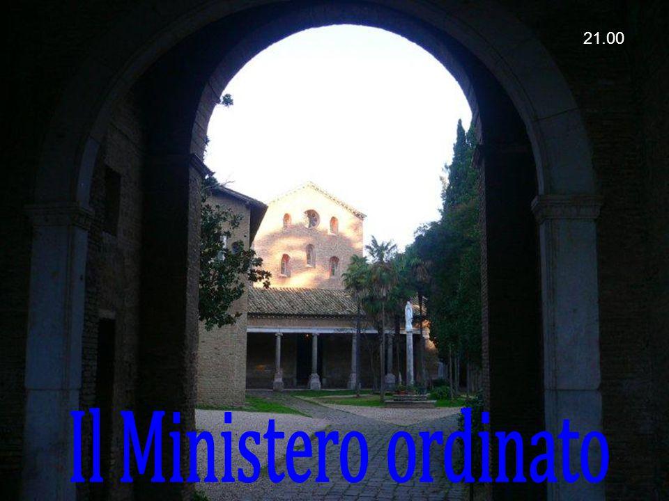 21.00 Il Ministero ordinato