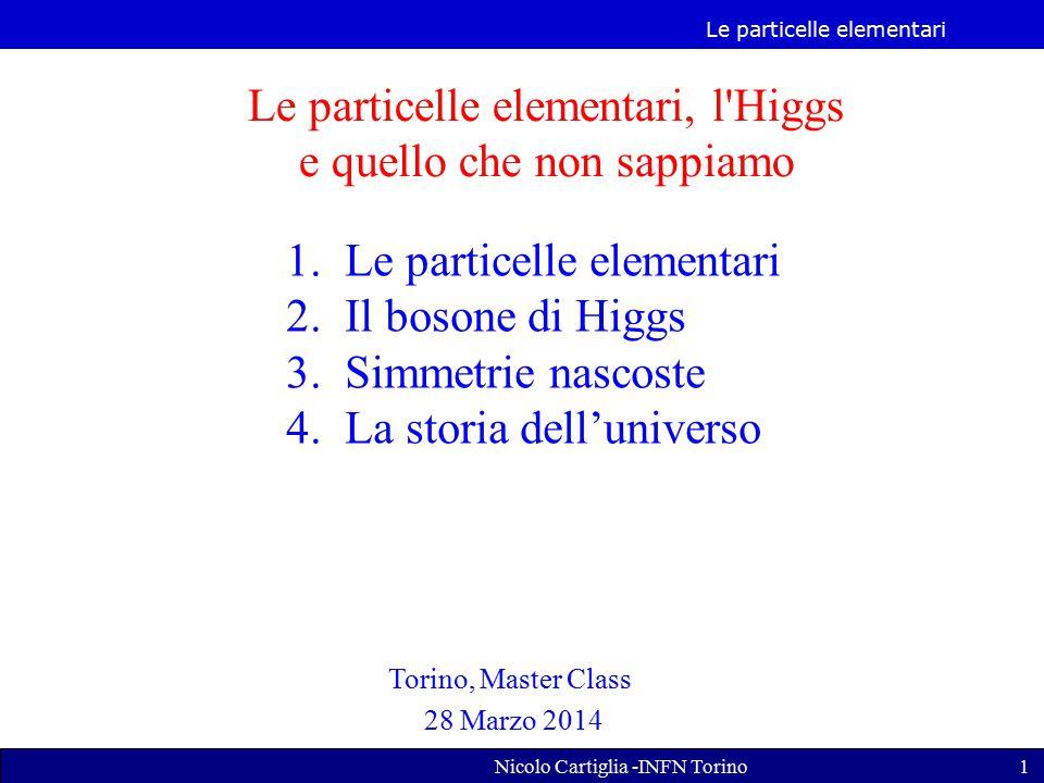 Le particelle elementari, l Higgs e quello che non sappiamo