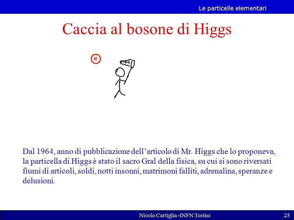 Caccia al bosone di Higgs