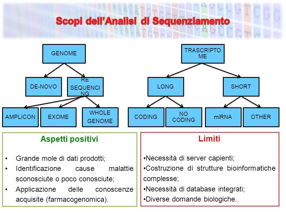 Scopi dell'Analisi di Sequenziamento