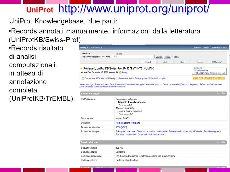 UniProt http://www.uniprot.org/uniprot/