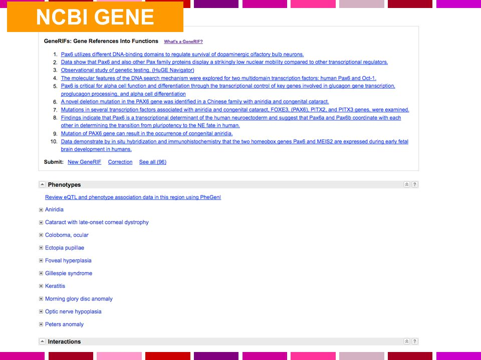 NCBI GENE